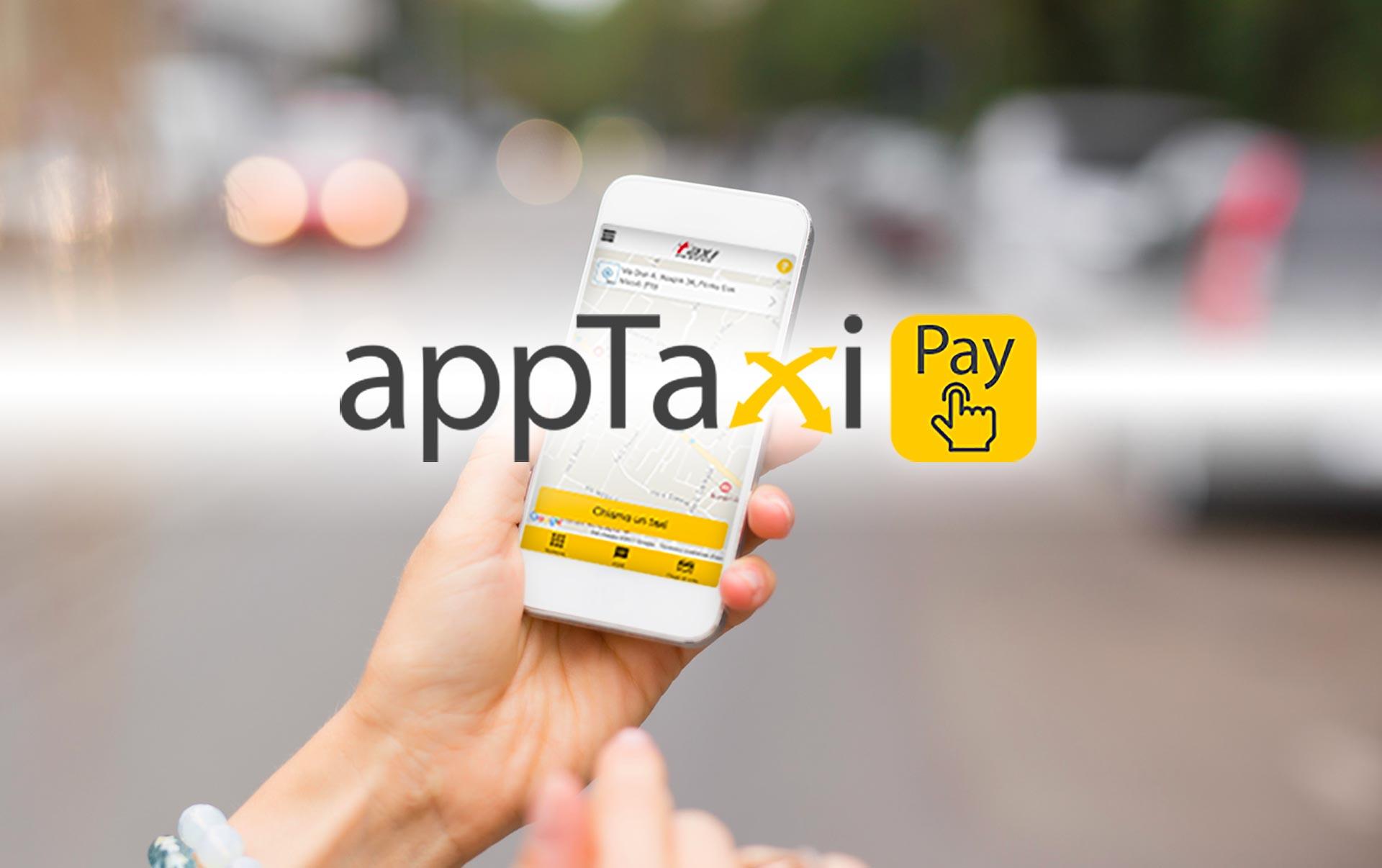 appTaxi paga il taxi al volo