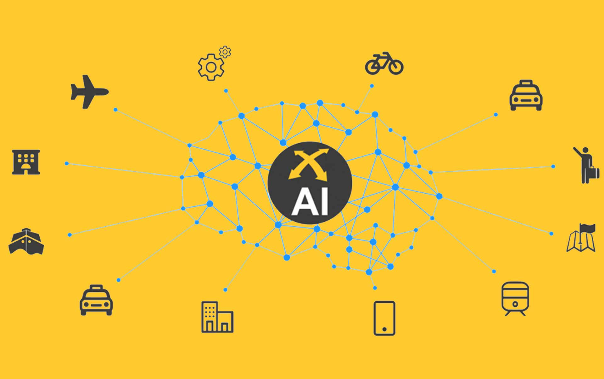 Intelligenza artificiale e taxi