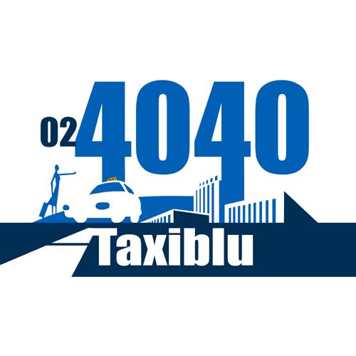 Taxi Milán Taxiblu logo