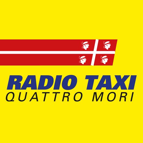 Taxi Cagliari Quattro mori logo