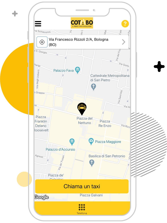 Cerco un taxi a Bologna