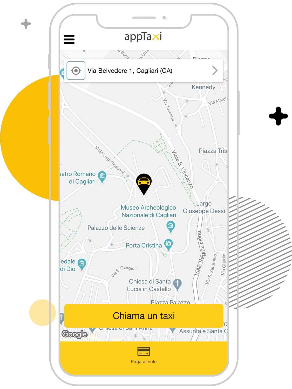 Cerco un taxi a Cagliari