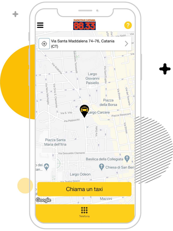 Cerco un taxi a Catania