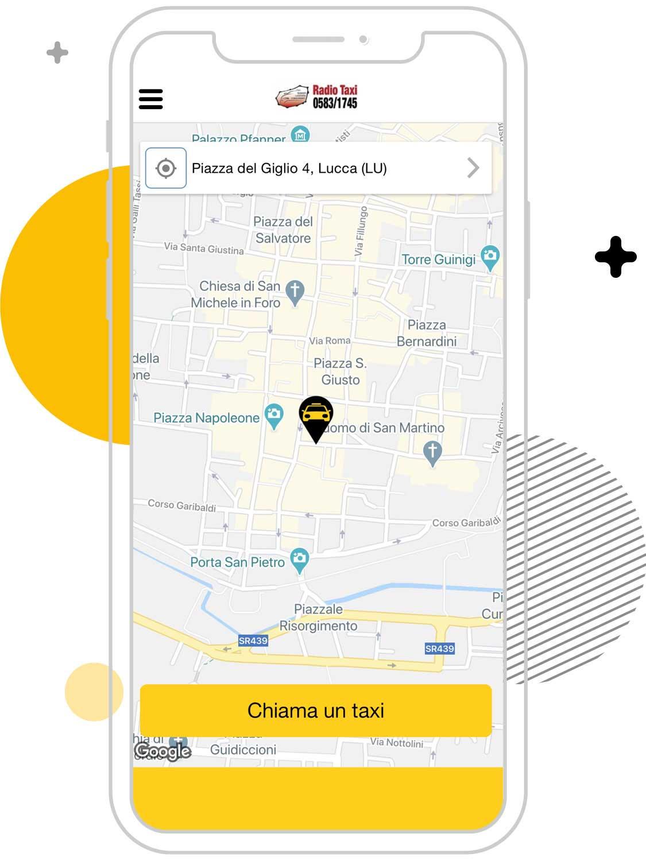 Cerco un taxi a Lucca