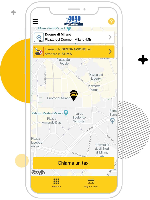 Cerco un taxi a Milano