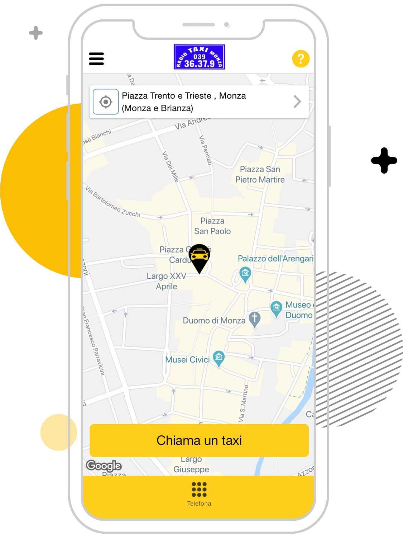 Busco un taxi en Monza