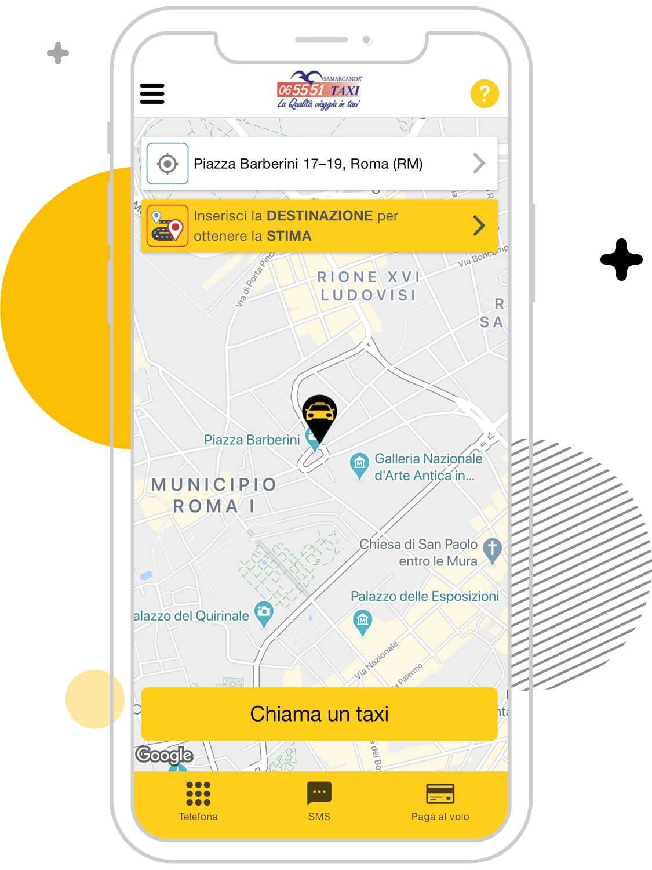 Busco un taxi en Roma