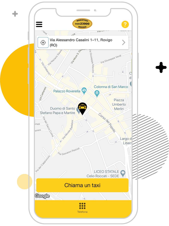 Cerco un taxi a Rovigo