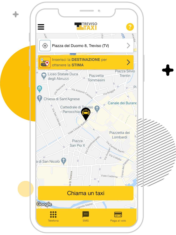 Cerco un taxi a Treviso