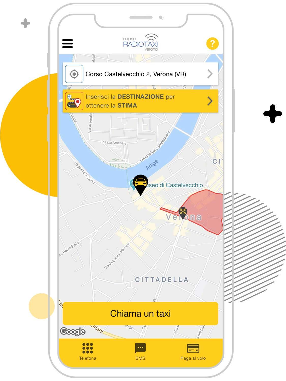 Cerco un taxi a Verona