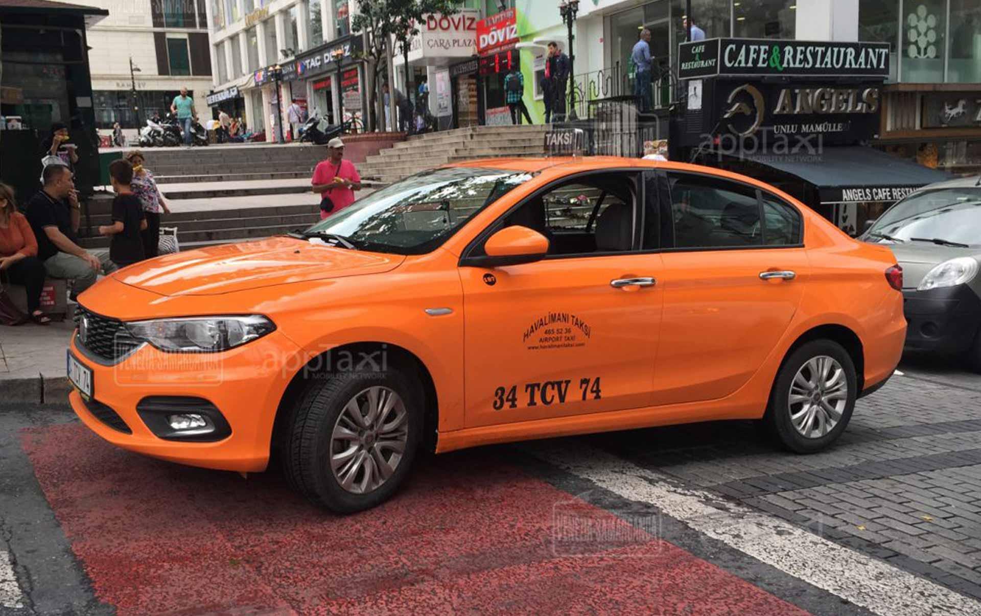 il taxi di instambul