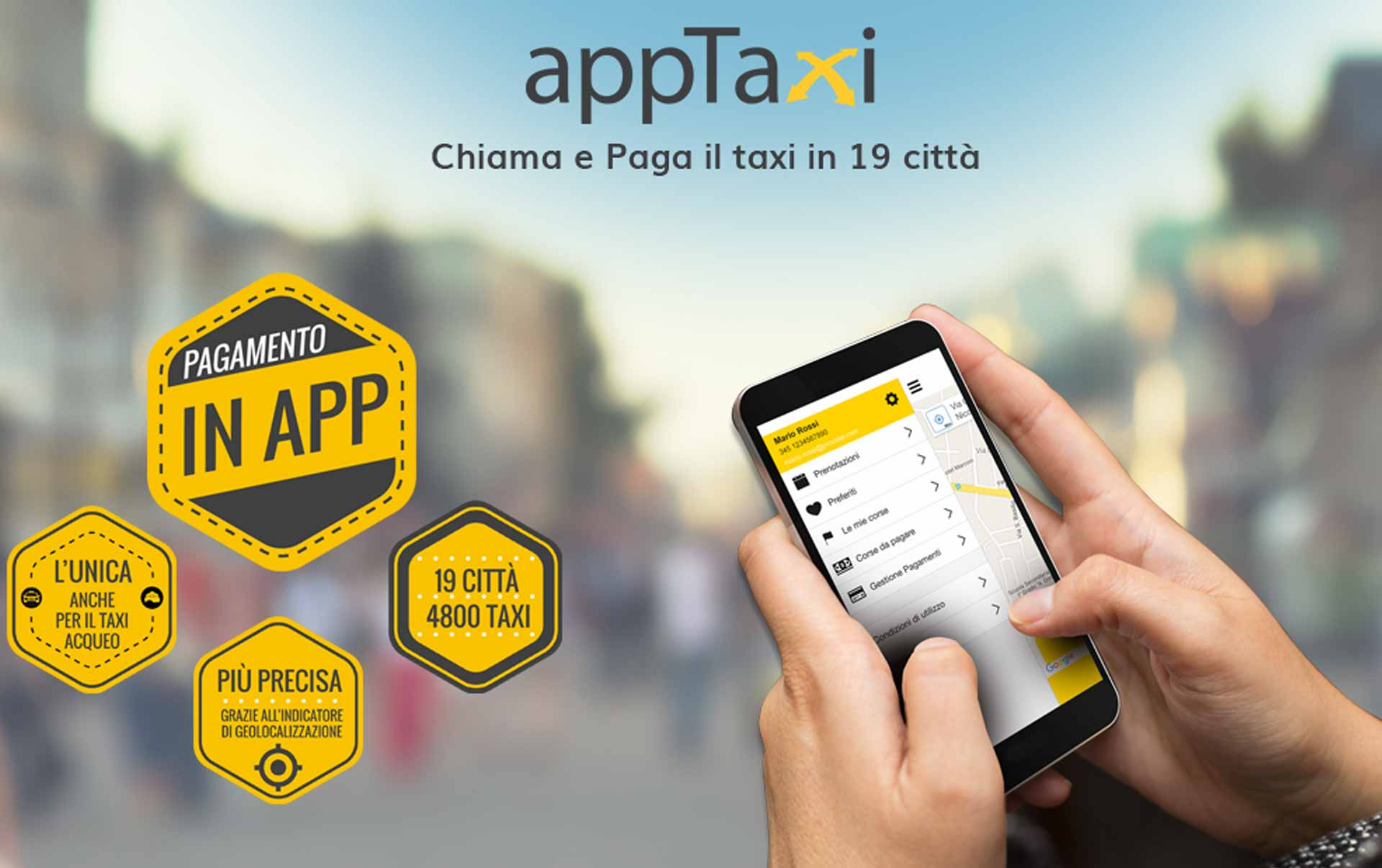 appTaxi e Mastercard