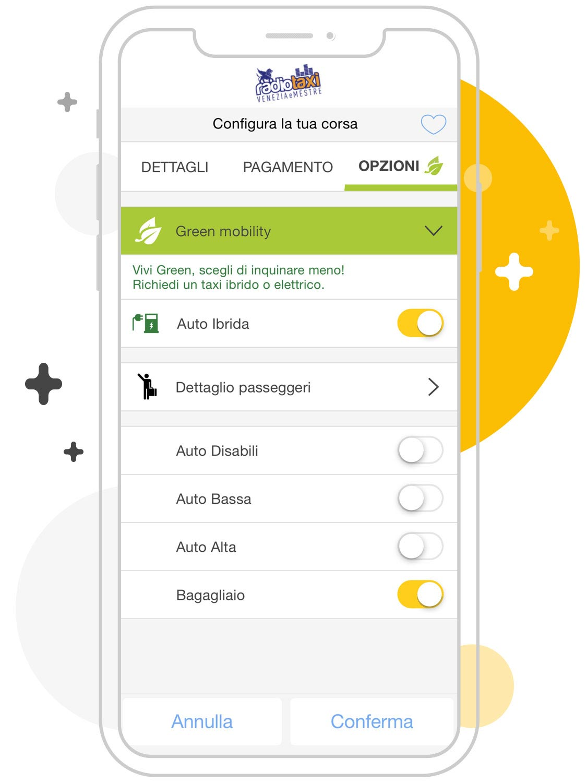 Opzioni taxi Venezia-Mestre