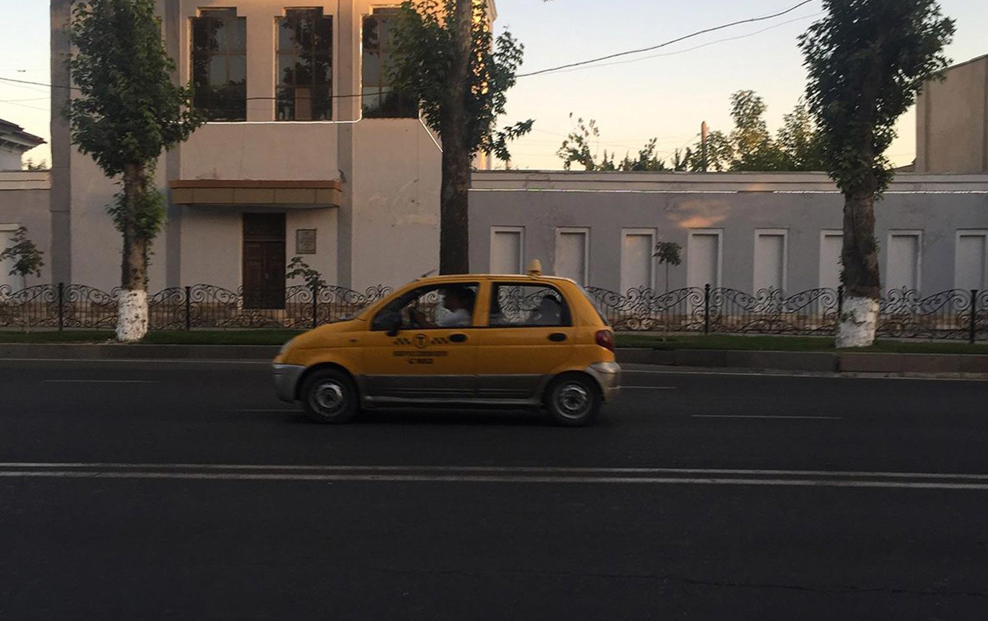i taxi di samarcanda
