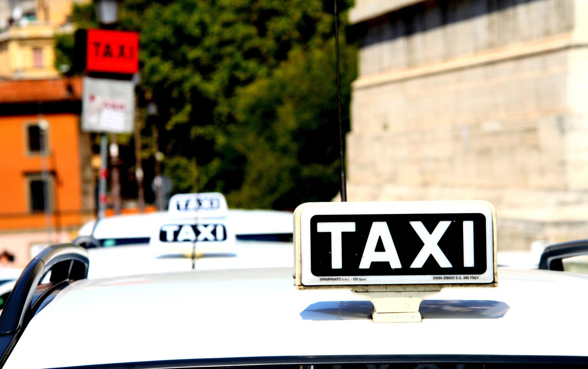 sicurezza taxi