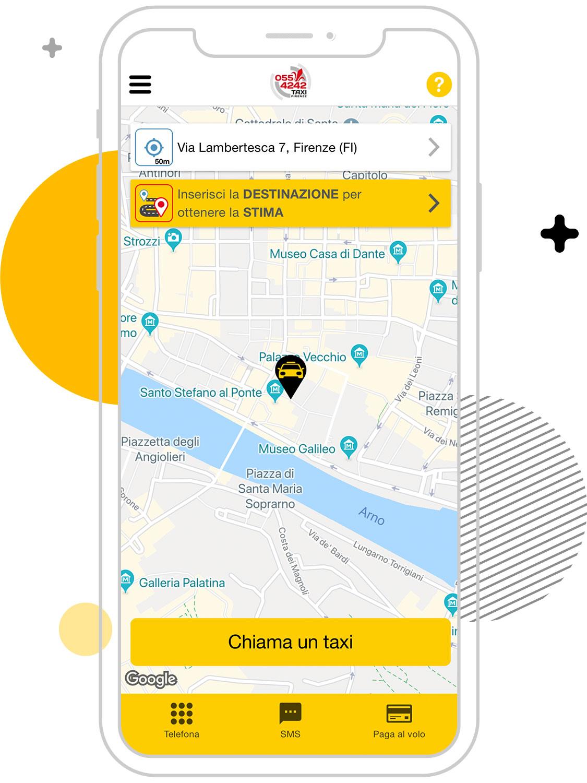 Cerco un taxi a Firenze