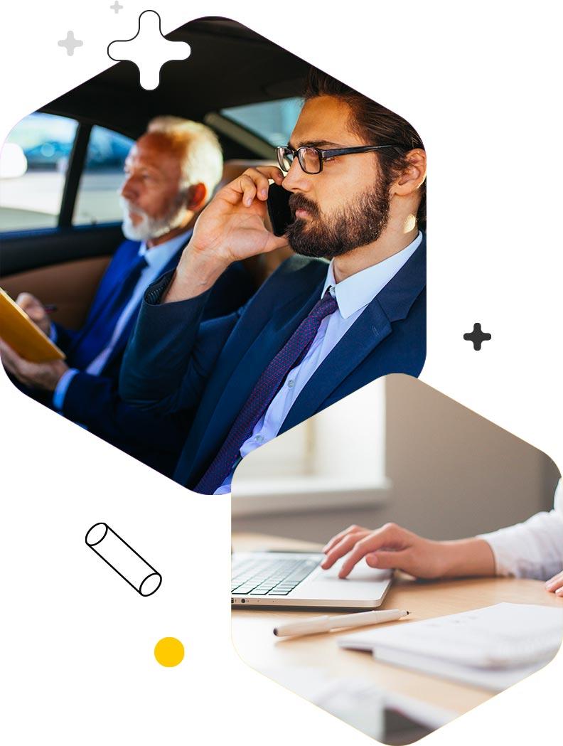 Vantaggi business appTaxi